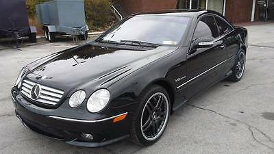 2005 Mercedes-Benz CL-Class  2005 Mercedes-Benz CL65 AMG Twin-Turbo V12 Coupe