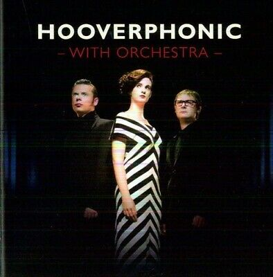 With Orchestra - Hooverphonic (2012, CD NUEVO)