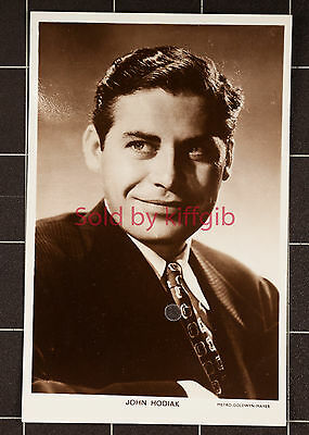 Picturegoer Real Photo Postcard-Actor-John Hodiak