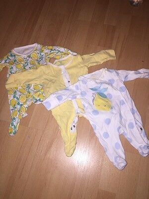 6 First Size Girls Baby Grow BUNDLE From Next