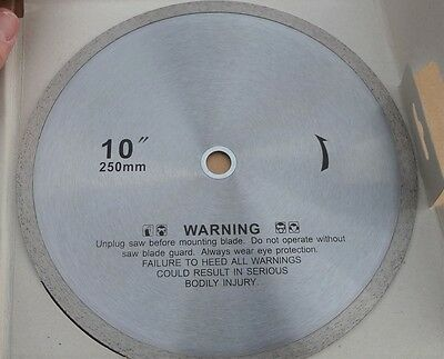 "10 Pack 10"" Professional Ceramic Continuous Rim Diamond Tile Saw Blade"