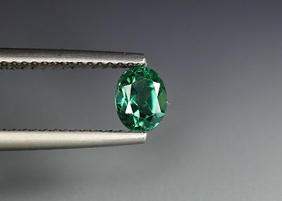 0.55 Cts_Gem Miracle Collection_100 % Natural Neon Green Apatite_Brazil