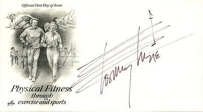 TOMMY TUNE Autographed Cover