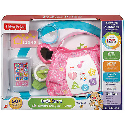 Fisher-Price Smart Stages Purse - NEW