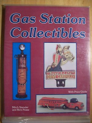 VINTAGE GAS OIL STATION PRICE GUIDE COLLECTORs BOOK SIGN PUMP GLOBE