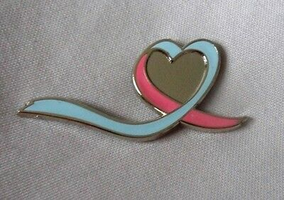 *NEW* Infant and Miscarriage Loss Awareness ribbon enamel badge.Charity SIDS