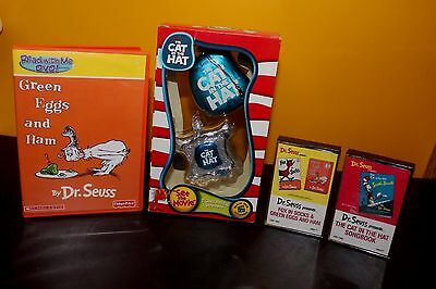 Dr. Seuss 'The Cat in the Hat' Movie Ornament (NIB) + DVD + 2 Casssettes