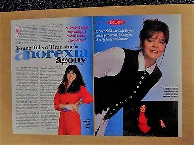 YTT 1996 Talent Time Sally Boyden  2 Page   Magazine Clippings Article  Photo