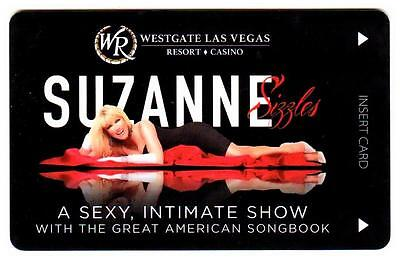 WESTGATE casino*SUZANNE SIZZLES*las vegas hotel key card*Free FAST Shipping!