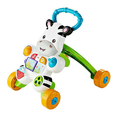 Fisher-Price Learn With Me Zebra Walker - NEW