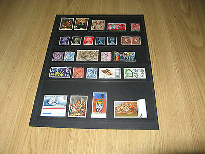 British Commonwealth Stamps (54 Used +4MNH)
