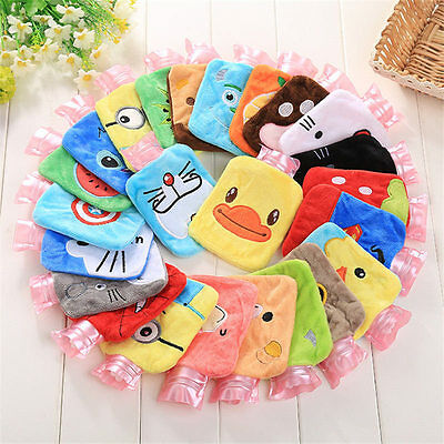 Outdoor Cute Plush Cartoon Hot Water Bottle Bags Warm Relaxing Heat Cold Therapy