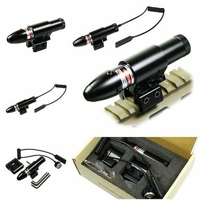 Waterproof Tactical Red & Green Laser Sight Rifle Scope w/ Red Laser Sight Scope