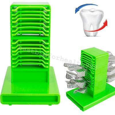 Green Dental Impression Tray Plaster Holder Stand Double sides Large base New