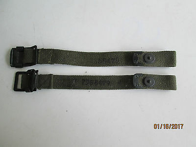 Webbing strap US Army WW2 Military jeep truck 1 pair