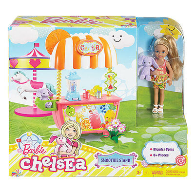 Barbie Chelsea and Smoothie Stand - NEW