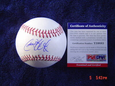 PITTSBURGH PIRATES GERRIT COLE signed OFFICIAL MAJOR LEAGUE BASEBALL PSA DNA COA