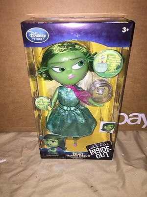 Disney Store Inside Out Deluxe Talking Disgust Toy
