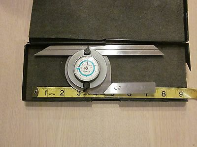 Brown & Sharpe 497 protractor Swiss made used