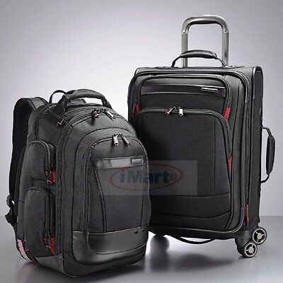 """Samsonite Prowler GT 2-PC Business Set 21"""" Spinner Luggage & Backpack Bags a"""