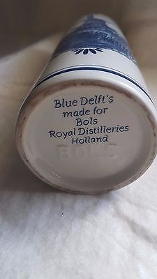 Blue and white China sell off.....Blue Delft oil bottle