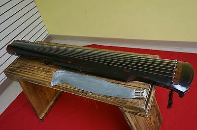 Collection Level Chinese Aged Fir Guqin 7-stringed Zither Instrument - 收藏級極品古琴