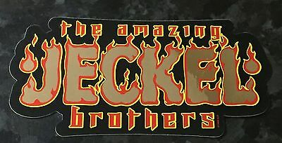 Icp Twiztid Rare The Amazing Jeckel Brothers Insane Clown Posse Sticker New