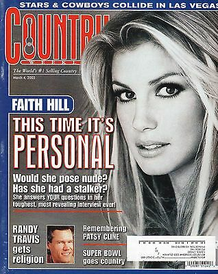 Faith Hill--2003 Country Weekly Magazine