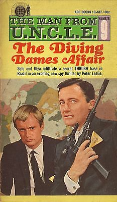 The Man From U.N.C.L.E.: The Diving Dames Affair--Peter Leslie--1967