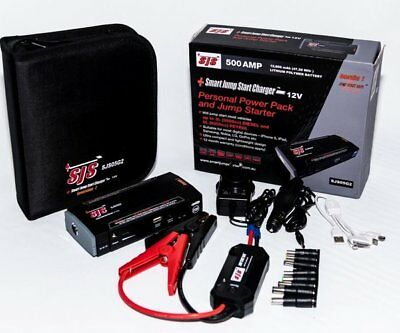 SJS 500 Amp Mini Portable Jump Starter and Power Pack SSC05