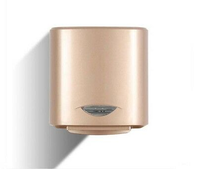 Golden Plastic Wall Mounted Automatic Induction Quick Drying Hand Dryer Machine