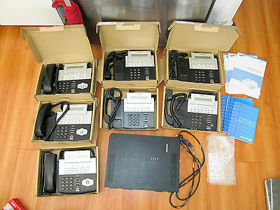 Samsung OfficeServ 7030 + 7 handsets (3 x DS-5021D + 4 x DS-5014S) phone system
