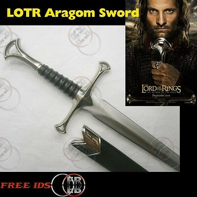Lord of the Rings Arogam Dagger Sword /w Scabbard