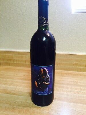 Collectible Unopened Jerry Garcia 1997 First Edition Label Release Unwine