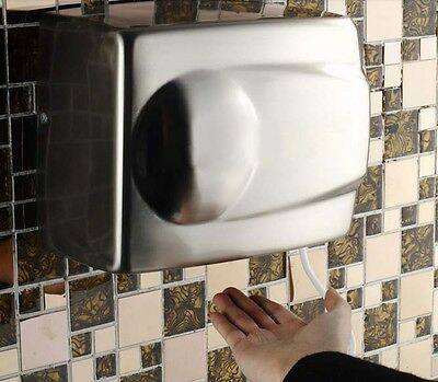 Stainless Steel Wall Mounted Automatic Induction Quick Drying Hand Dryer Machine