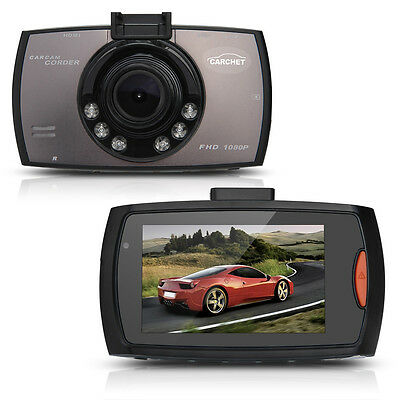 "Full HD 2.7"" 1080P GPS Dash DVR Camera 170°Wide Angle 6LED Night Vision for Car"