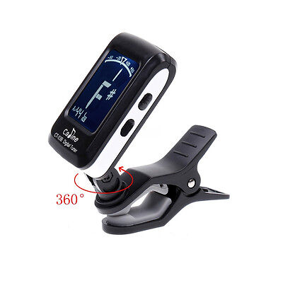Electronic Digital fChromatic Bass Violin Ukulele LCD Auto Clip-on Guitar Tuner