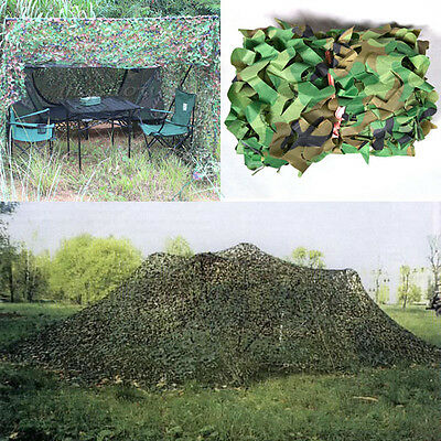 2x2m Oxford Fabric Camouflage Net Camo Netting Hunting Shooting Hide Army New