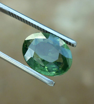 5.65 Ct Green Apatite Natural untreated oval cut loose gemstones
