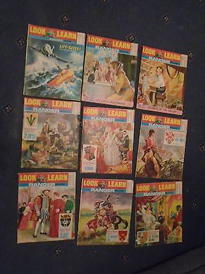 9 X Look and Learn   Vintage Magazines March - Aug 1969