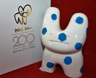 Royal Doulton Pure Evil ~ Bunny ~ Sick ~ Numbered Edition ~ Boxed