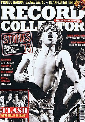 ROLLING STONES / CLASH / STEVE WINWOOD Record Collector no. 419 Oct 2013