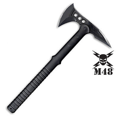 Hunting Camping Survival Tool SOG M48 Tactical Hatchet Axe Tomahawk Battle Ax BK