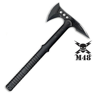 Hunting Knife Survival Camping Tool M48 Tactical Hatchet Axe Tomahawk Battle Ax