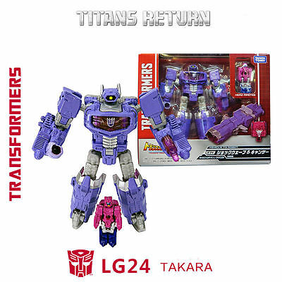 Takara Tomy Transformers Legends LG24 Shockwave & Cancer Figure Toy Head Master