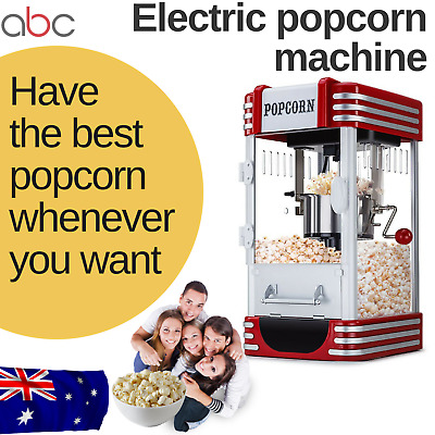 Large Popcorn machine popper cooker party movies cinema theatre electric maker
