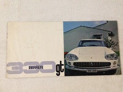 Ferrari Berlinetta 330 GT ORIGINAL brochure