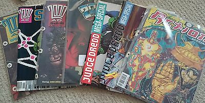 2000AD Judge Dredd Comic Collection Specials / Monthlies