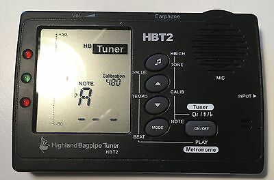 HBT2 Bagpipe Tuner and Case