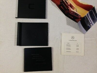 Mercedes C Class brochure, pricelist and invitation to launch - 1994